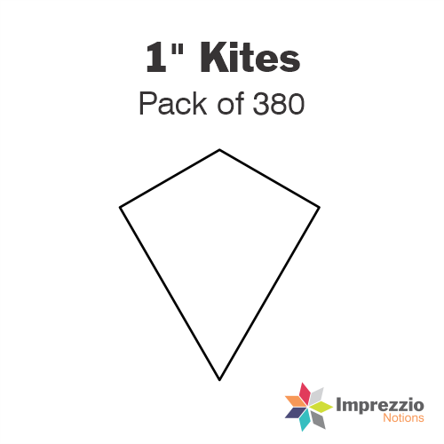 "1"" Kite Papers - Pack of 380"