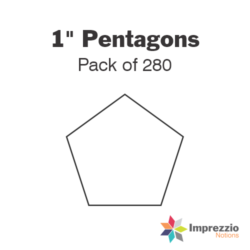 "1"" Pentagon Papers - Pack of 280"