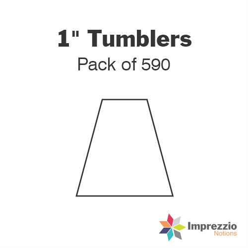 "1"" Tumbler Papers - Pack of 440"