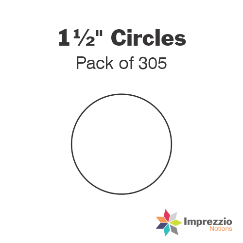 "1½"" Circle Papers - Pack of 300"