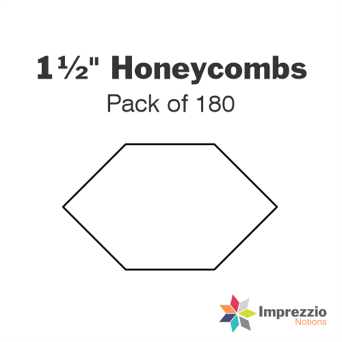"1½"" Honeycomb Papers - Pack of 180"