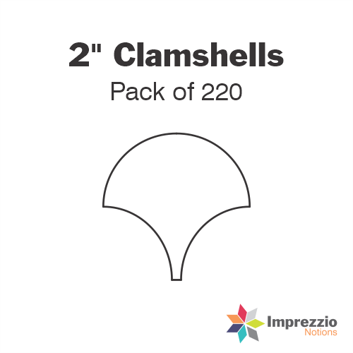 "2"" Clamshell Papers - Pack of 220"