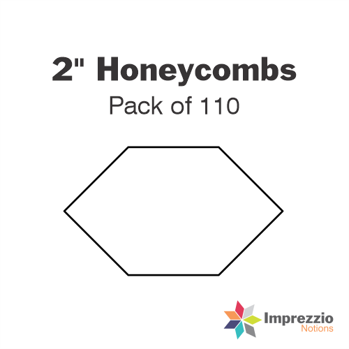 "2"" Honeycomb Papers - Pack of 110"