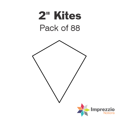 "2"" Kite Papers - Pack of 88"