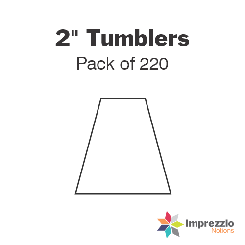 "2"" Tumbler Papers - Pack of 200"