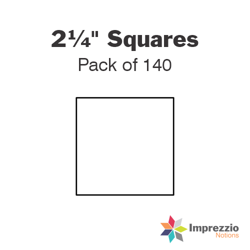 "2¼"" Square Papers - Pack of 140"