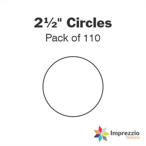 "2½"" Circle Papers - Pack of 110"