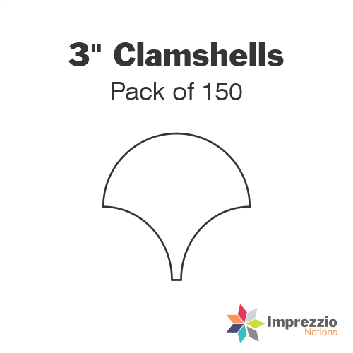 "3"" Clamshell Papers - Pack of 150"