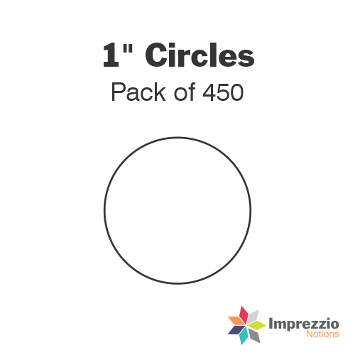 "1"" Circle Papers - Pack of 700"