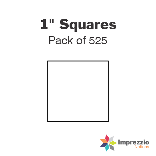 "1"" Square Papers - Pack of 700"