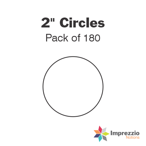 "2"" Circle Papers - Pack of 180"
