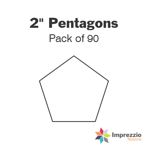 "2"" Pentagon Papers - Pack of 90"