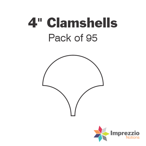 "4"" Clamshell Papers - Pack of 84"