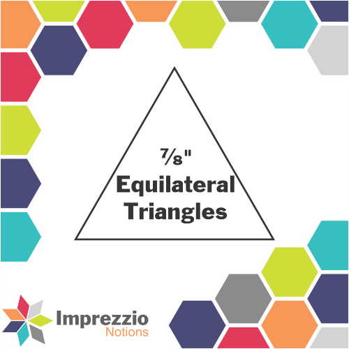 "⅞"" Equilateral Triangles"