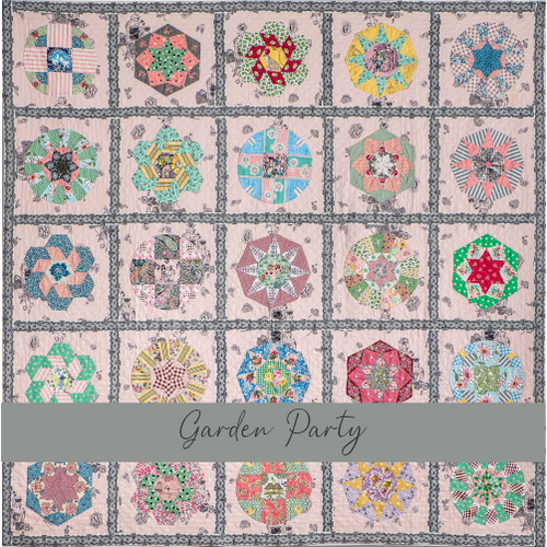 Garden Party - Paper and Template Pack