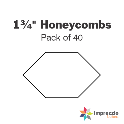 "1¾"" Honeycomb Papers - Pack of 40"