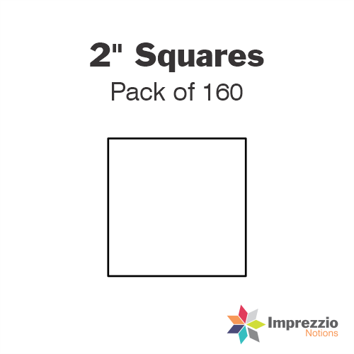 "2"" Square Papers - Pack of 160"