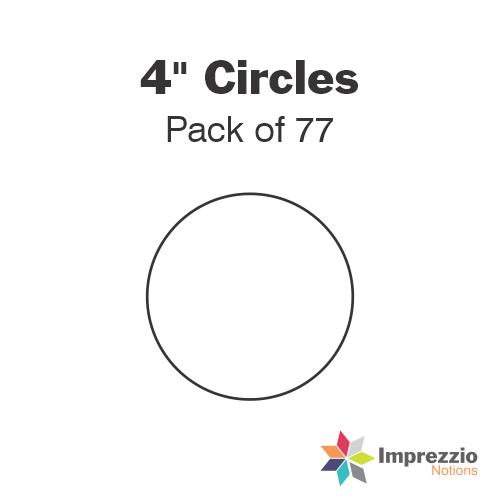 "4"" Circle Papers - Pack of 88"
