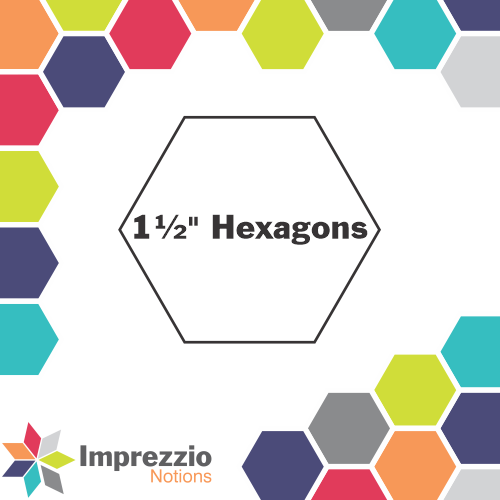 "1½"" Hexagons"