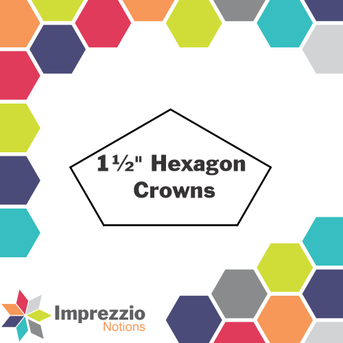 "1½"" Hexagon Crowns"