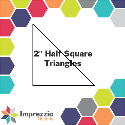 "2"" Half Square Triangles"