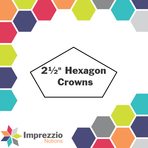 "2½"" Hexagon Crowns"